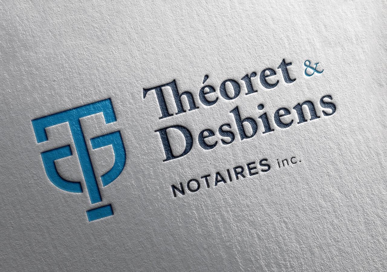 Gaspard Portfolio - Théoret & Desbiens Notaires Logo