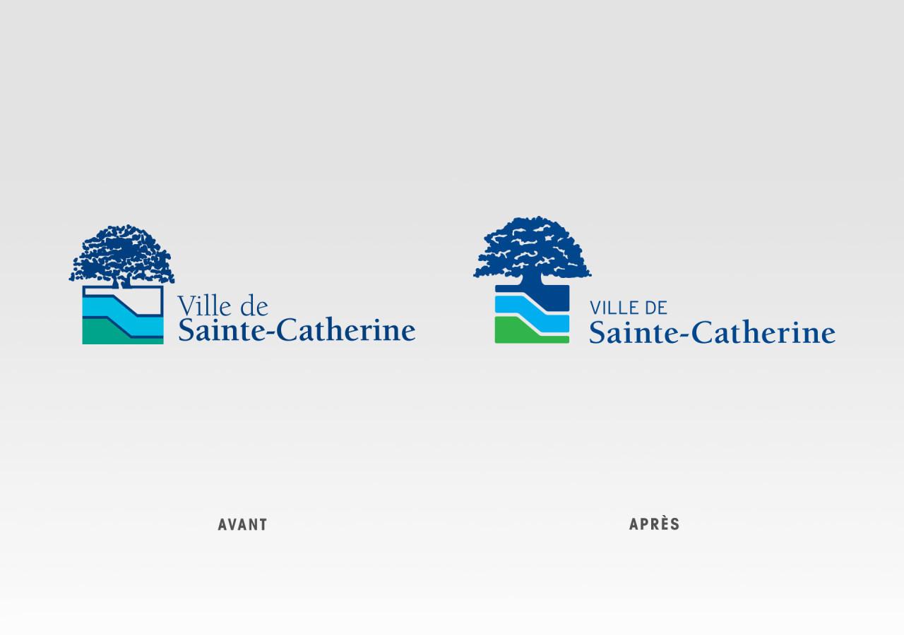 Gaspard Portfolio - VSC - Ville Sainte-Catherine Logo