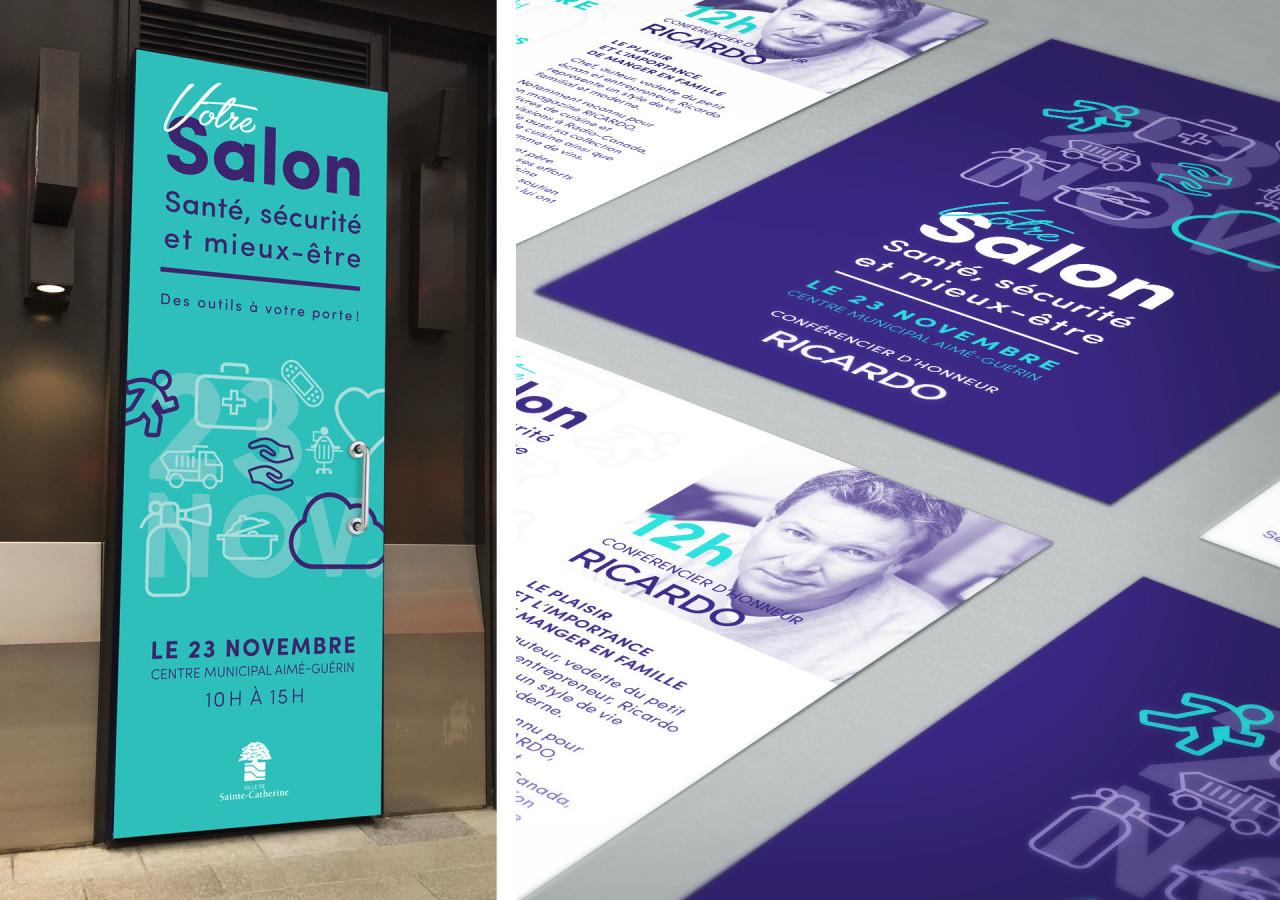 Gaspard Portfolio Habillage Salon Santé Sécurité mieux-être