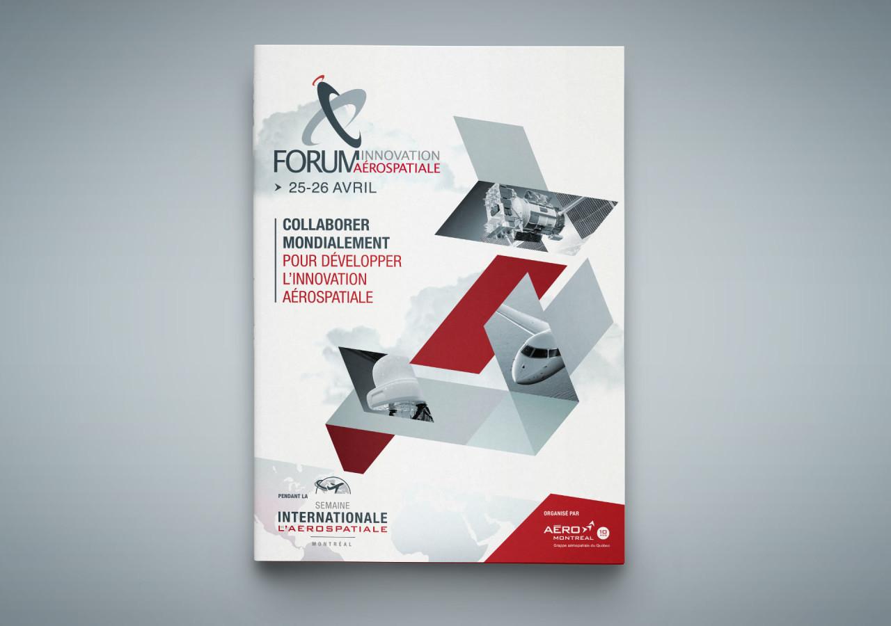L'Agence Gaspard - Portfolio Aero Montreal Forum innovation - Aero Montreal - Commandite