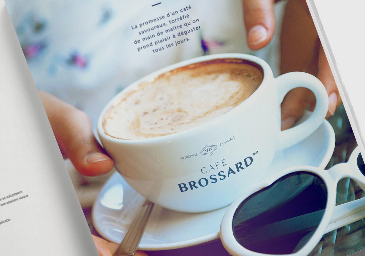 L'Agence Gaspard - Cafe Brossard publicite Ete Printemps