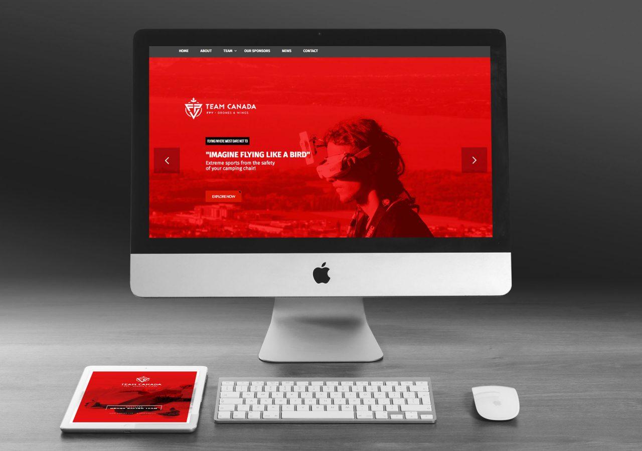 gaspard team canada fpv site web
