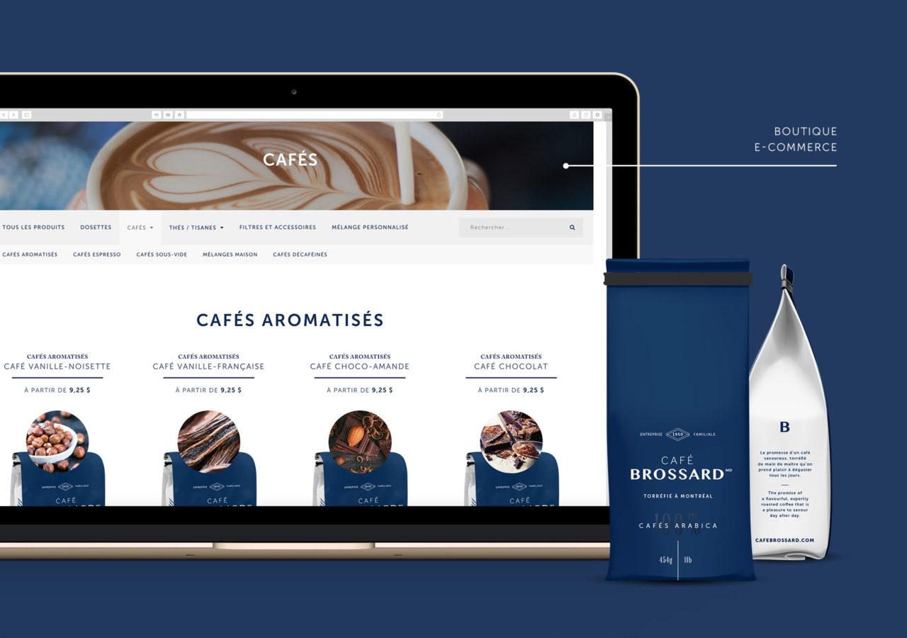 gaspard cafe brossard web design siteweb