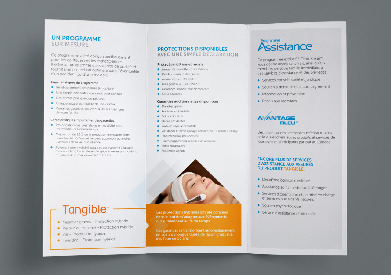 Croix Bleue - Branding Brochure