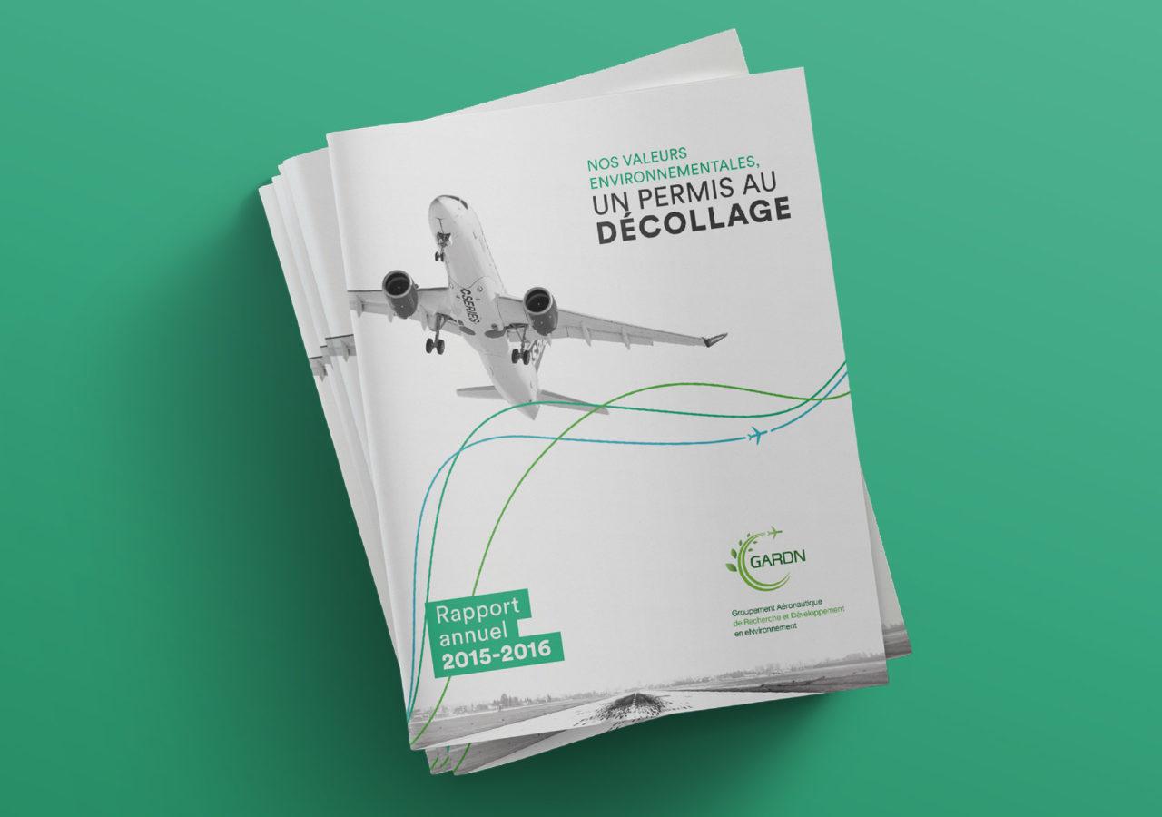 GARDN Rapport Annuel - Branding - Document - Cover