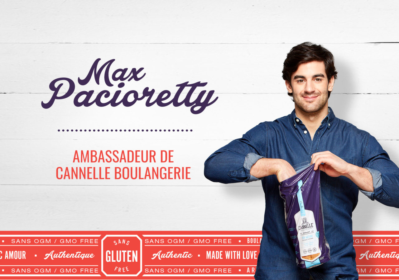 Cannelle Boulangerie - branding packaging emballage Max Pacioretty