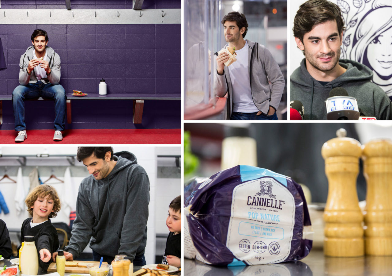 Cannelle Boulagerie - branding Max Pacioretty
