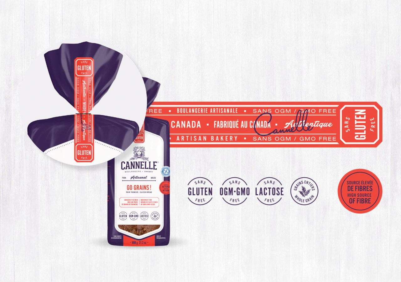 Cannelle Boulangerie - emballage packaging