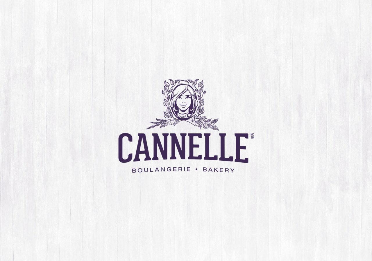 Logo Cannelle Boulangerie branding