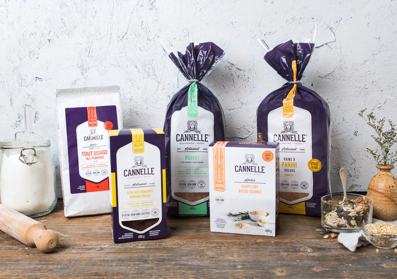 Cannelle Boulangerie - branding packaging emballage