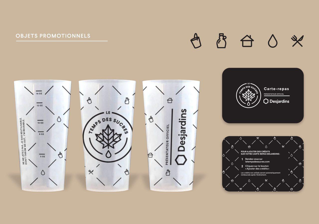 Gaspard Agence Montreal - Branding - le temps des sucres