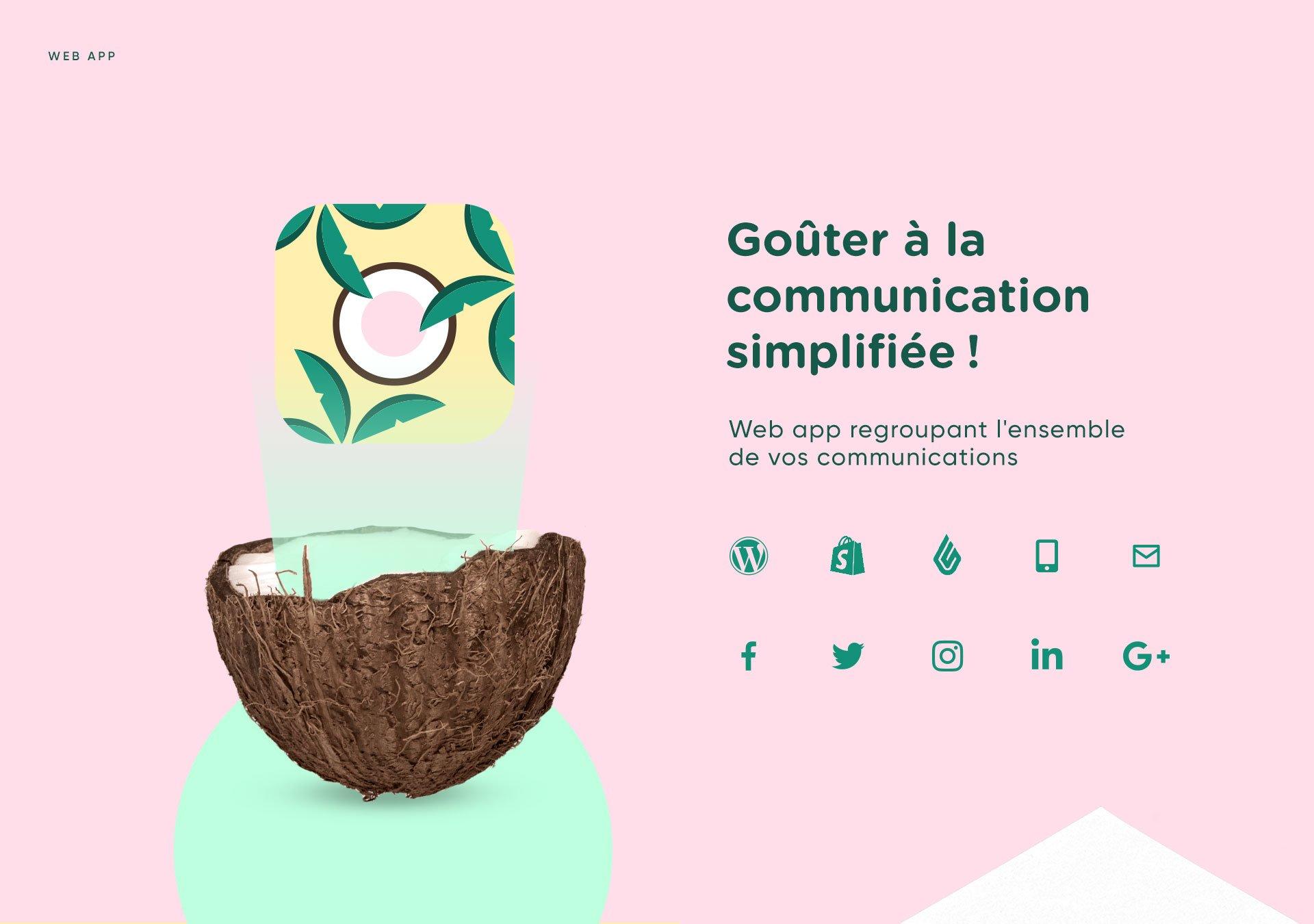 web design app publicity Identité visuelle