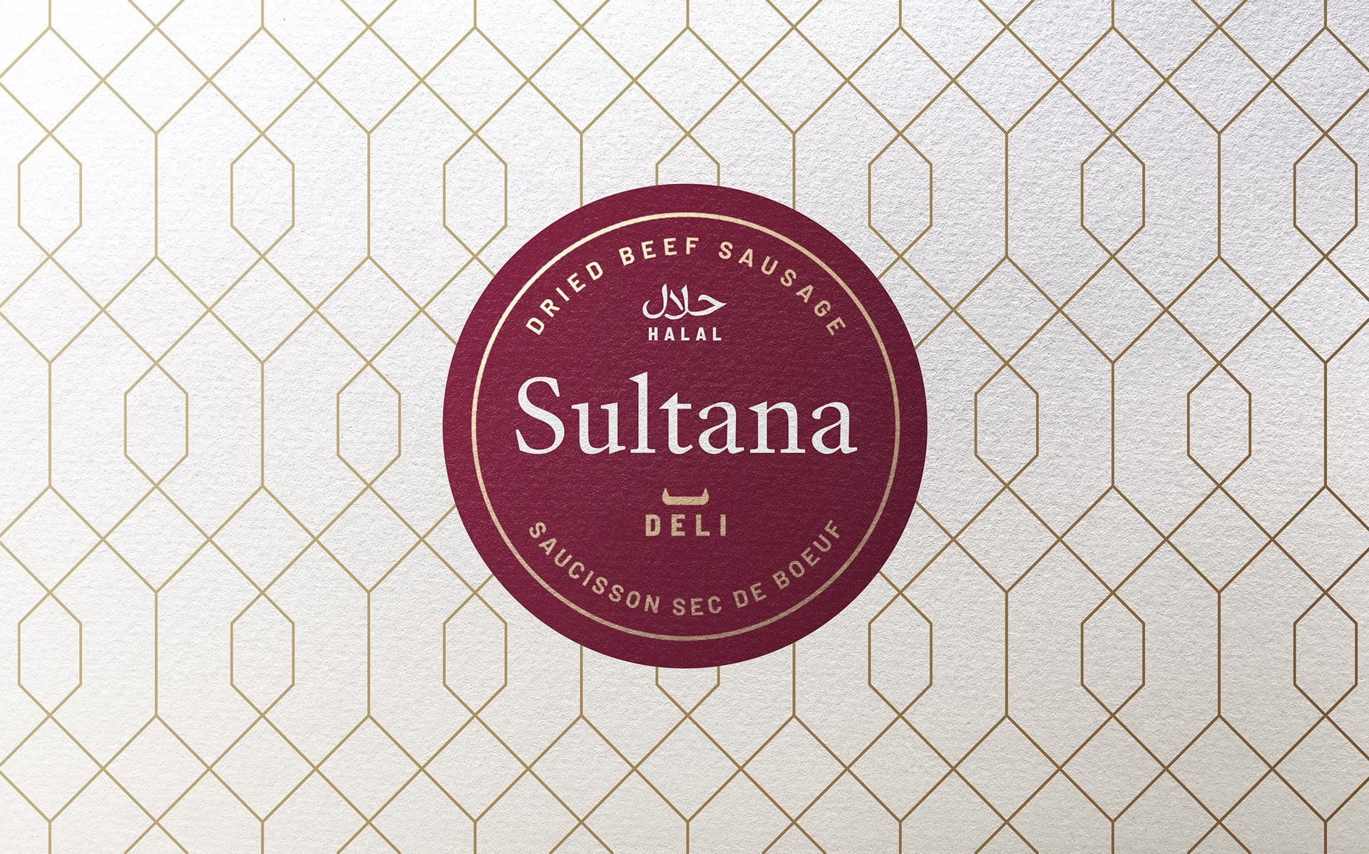 Sultana Deli - emballages - Packaging - Identité - Branding
