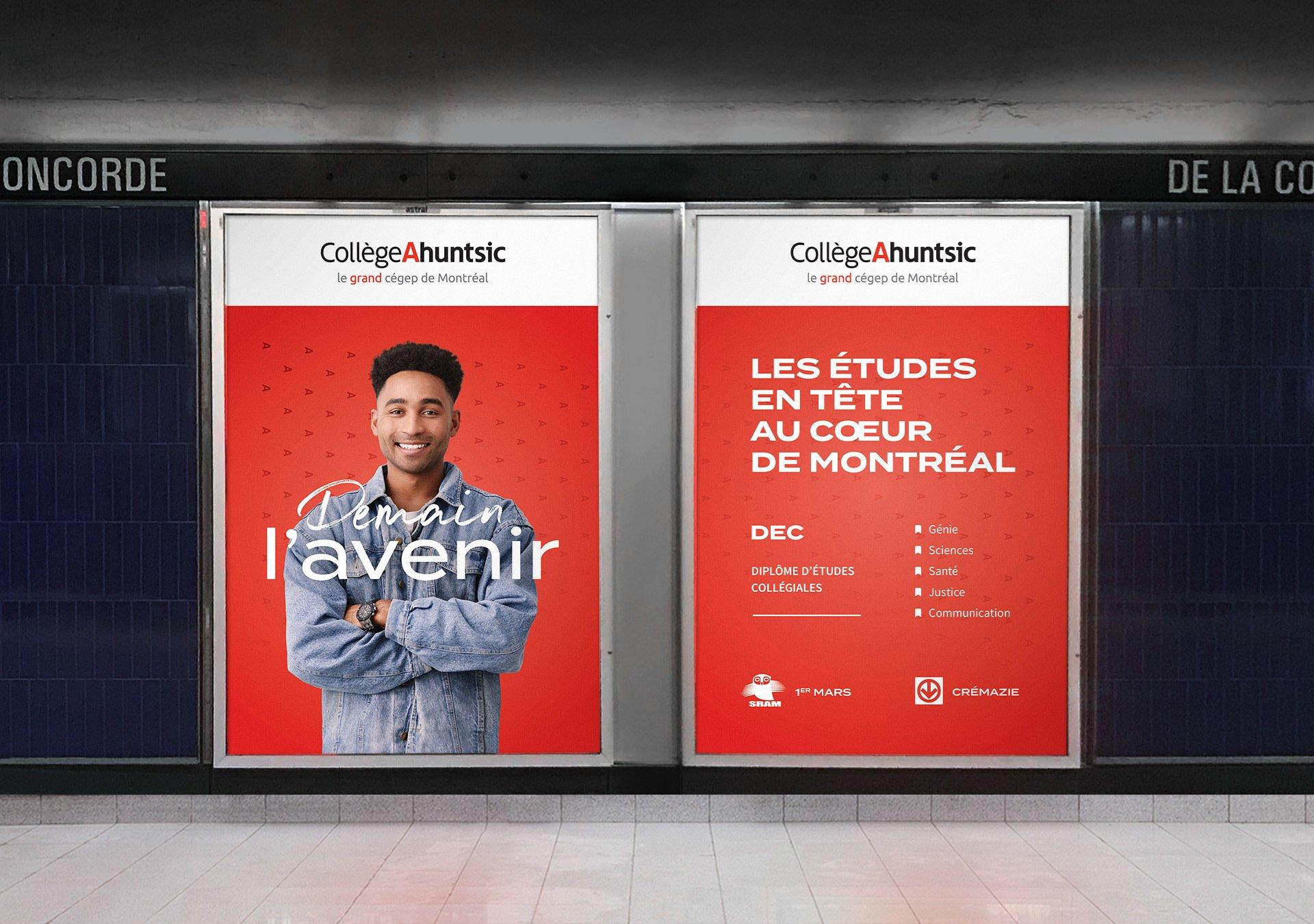 Lumiquai - Campagne Publicitaire - Demain l'avenir - Collège Ahuntsic