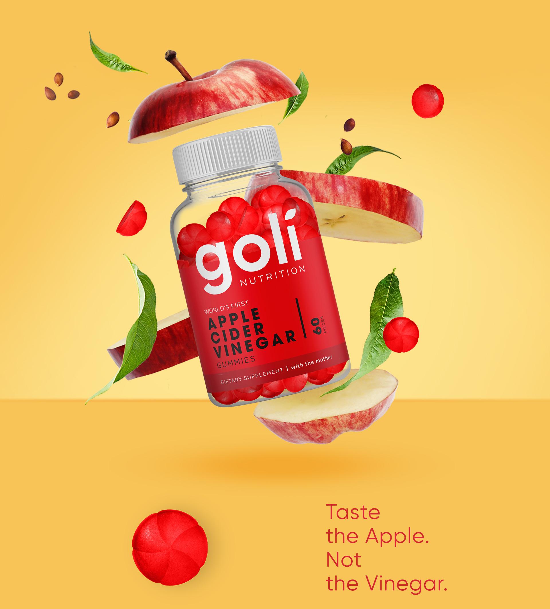 Packaging Goli Nutrition